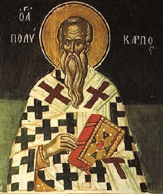 свети свещеномъченик Поликарп, епископ Смирненски