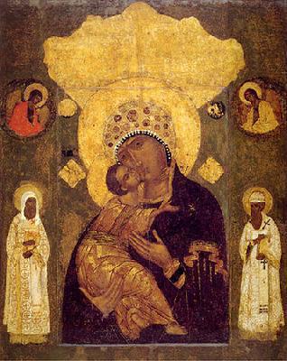 ВОЛОКОЛАМСКА ИКОНА на Богородица