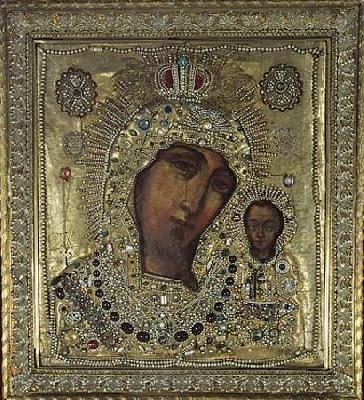 Чудотворната Казанска икона на Пресвета Богородица