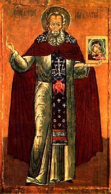 преподобния наш отец Аврамий Чухломски, Галички чудотворец