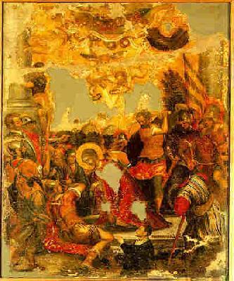 Мъчение на света преподобномъченица Параскева Римска