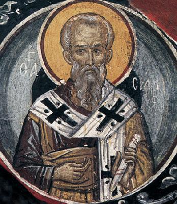 Св. апостол Сила. Фреска от манастира Метеора. 1527 г.