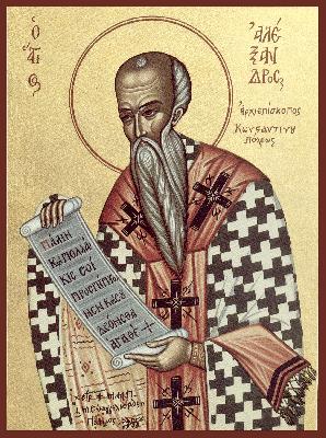 Свети Александър, патриарх Константинополски