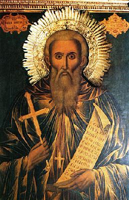 преподобния и богоносен наш отец Козма, зографски чудотворец