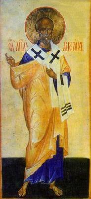 Св. апостол Аристарх от 70-те