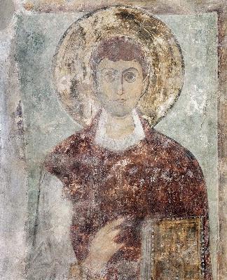 Св. Домнин. Фреска от събора