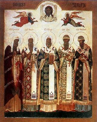 московските светители Петър, Алексий, Иона и Филип