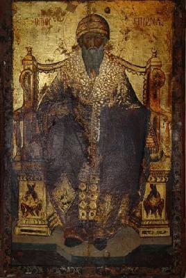 Чудотворен образ на свети Спиридон, епископ Тримитунтски