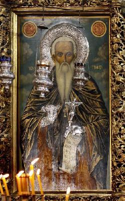 Св. Йоан Рилски Чудотворец - чудотворна икона