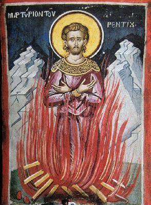 Мъчение на св. Флорентий Солунянин