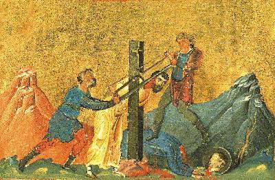 светите мъченици Сарвил и Вевея