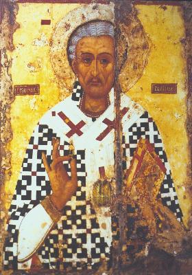 Свети праведни Лазар Четверодневни. Икона от XVI в. Ларнака. Кипър
