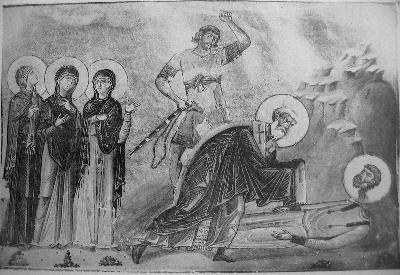 ветите мъченици Александър епископ, Ираклий воин и четирите жени Анна, Елисавета, Теодотия и Гликерия