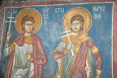 светите мъченици Маркиан и Мартирий