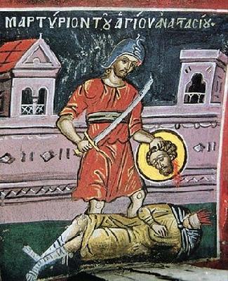 Мъченик Анастасий Аквилейски, Салонски