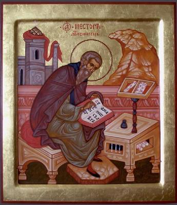 Св. преподобни Нестор Летописец, Киево-Печорски
