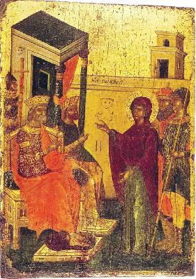 Великомъченица Параскева. Крит. XVI век