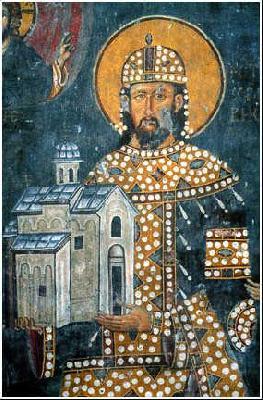 Св. Драгутин (в иночество Теоктист),крал Сръбски, преподобни