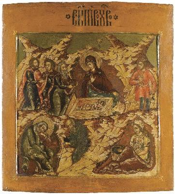 Рождество Христово. XVII в