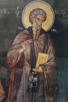 Св. преподобни Лазар Иконописец