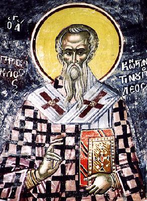 свети Прокъл, патриарх Константинополски