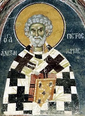 свети Петър, архиепископ Александрийски