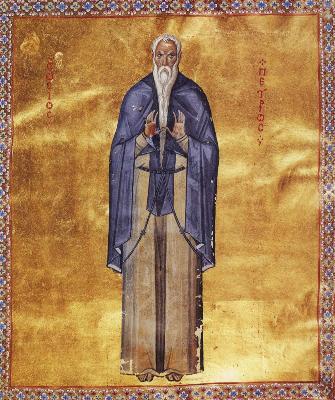 Св. преподобни Петър Мълчалник