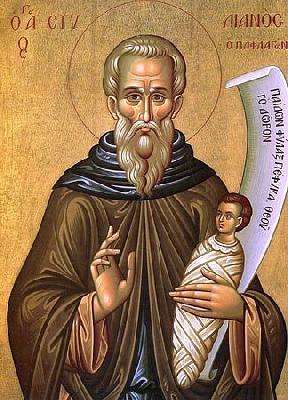 Св. преподобни Стилиян Пафлагонийски Детепазител