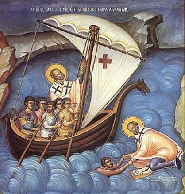 икона на св. Николай Чудотворец, Мирликийски