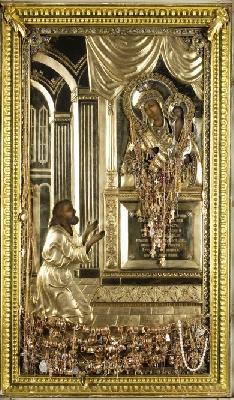 Чудотворна икона ''Неочаквана радост''. Москва. Храм Пророк Илия