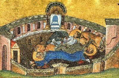 светите мъченици Силван епископ, Лука дякон и Мокий четец