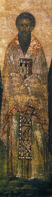 Свещеномъченик Василий Анкирски. Годишен миней. Икона. Русия. 1-ва половина на XVI в.