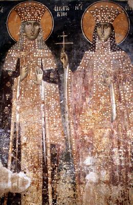 Великомъченици Екатерина и Ирина