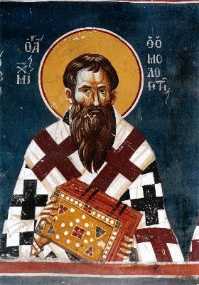 Св. преподобни Михаил Изповедник