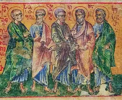 Светите апостоли от 70-те Епафродит, Сосфен, Аполос, Кифа и Кесар