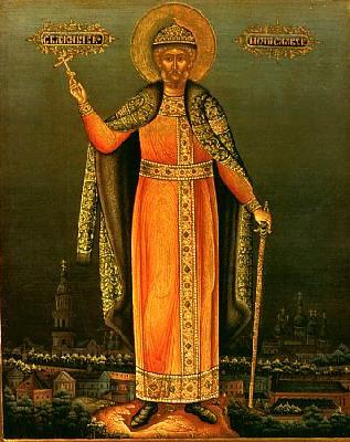 Св. Благоверен княз Мстислав (в Кръщение Георги) Храбри, Новгородски