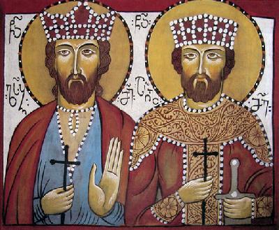 Свети царе мъченици Луарсаб и Арчил Грузински