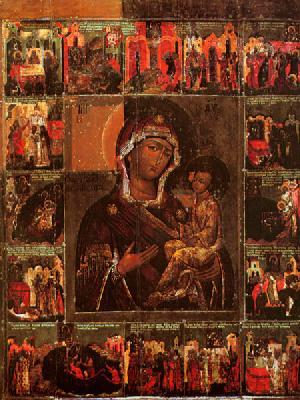 Лидийска нерукотворна икона на Божията Майка