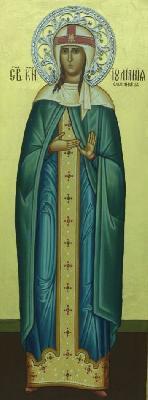 Св. дева Иулиания. Княгиня Олшанска