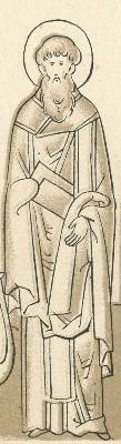 Св. мъченик Киндей Сидийски. Скица от Русия. Края XVI в., началото на XVII в.