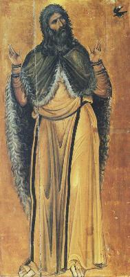 Свети славен пророк Илия. Икона от Византия. XIII век. Манастир