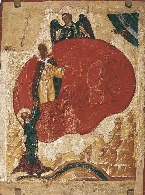 Огненото възхождение на свети славен пророк Илия