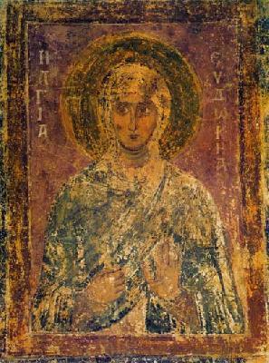 Света мъченица Евдокия (Ия)