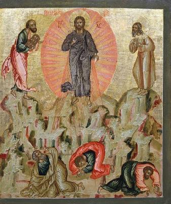 Преображение Господне. Икона от 1685 г