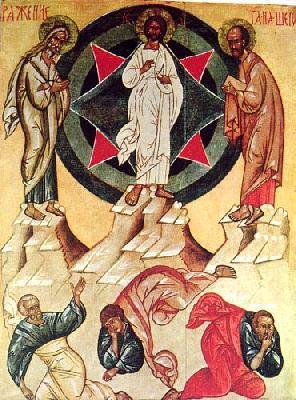 Преображение Господне. Икона от XV в. Москва.