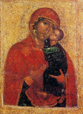Чудотворен първообраз на Толгската икона на Богородица.1314 год. от църквата ''Спасител'' на Толгския манастир. Сега в Ярославския държавен историко-архитектурен и художествен музей