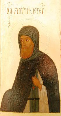 Св. Григорий Печерски, Иконописец
