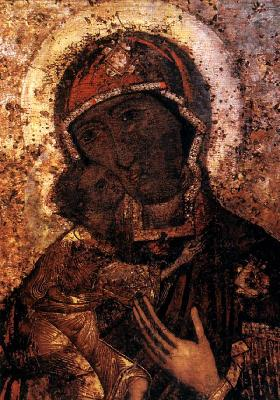 Първообраз на Теодорската - Костромска икона. Появявила се през XII век. Местонахождение: Богоявленско-Анастасиин събор, гр. Кострома