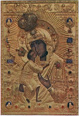 чудотворен образ на Теодорската - Костромска икона на Богородица