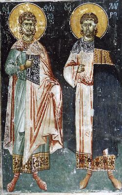 Свети мъченици Флор и Лавър